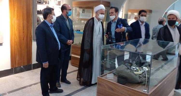 ابوالفضل زمانی : باغ موزه شهدای ابهر به بهرهبرداری رسید